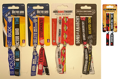 Official festival wristbands/ DOCTOR WHO/ BIG BANG THEORY/ SONS OF ANARCHY - 579