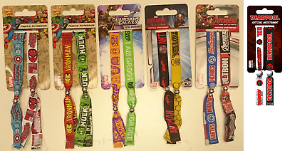 Official wristbands/ MARVEL/ SPIDER MAN/ THE AVENGERS/ ANT-MAN/ I AM GROOT - 580