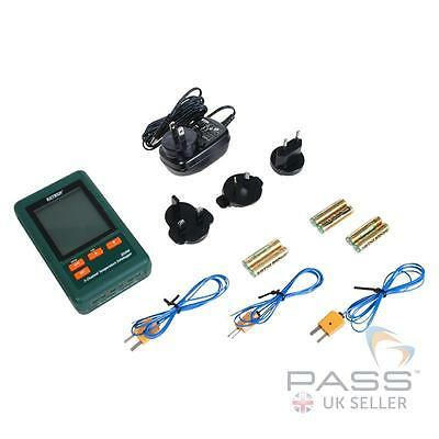 Extech SD200 3 Channel Temperature Datalogger / Genuine UK Stock