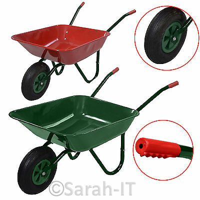 Heavy Duty Rolling Grass Garden Lawn Aerator Spike Roller + Aluminium Handle New