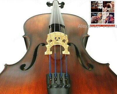 100% Hand Made 4/4 3/4 1/2 Size Cello,Solid Wood Cello,Prelude Strings+ Bag +Bow