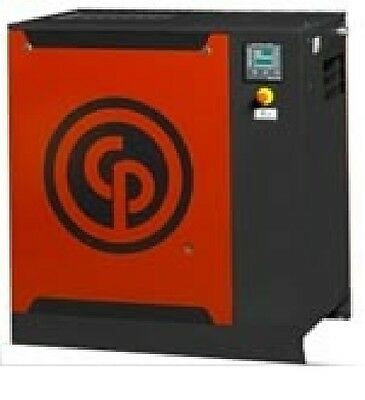 New Chicago Pneumatic 10 Hp Base Mount Rotary Screw Compressor  Qrs 10 Hp-125