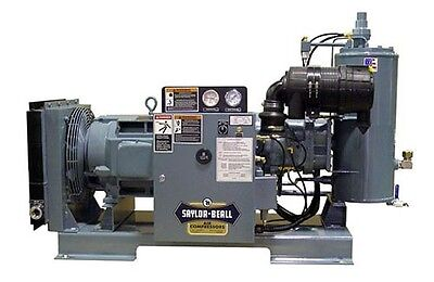 NEW SAYLOR-BEALL  40 HP RSD-40   166 CFM Rotary Screw Air Compressors USA made#