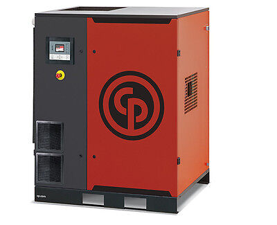 CHICAGO PNEUMATIC NEW!! 35 HP VSD Drive Rotary Screw Compressor with Dryer