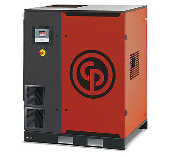 CHICAGO PNEUMATIC NEW!! 40 HP VSD Drive Rotary Screw Compressor with Dryer