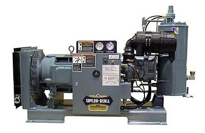 NEW SAYLOR-BEALL 15 HP RSD-15  55 CFM Rotary Screw Air Compressors USA made#