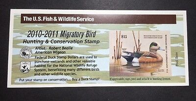 #RW77A 2010 - 2011 - US Federal Duck Stamp - Post Office FRESH