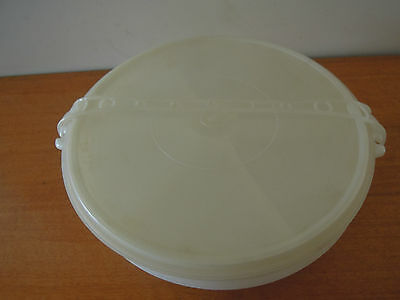 Vintage Tupperware Party Susan Double Stacked
