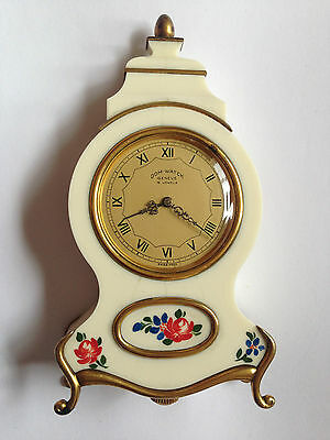 Antique Unusual Swiss made Clock Musical DOM WATCH GENEVE 15 RUBIS Working