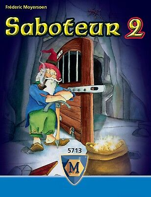 Saboteur 2 Card Game - Brand New - Sealed