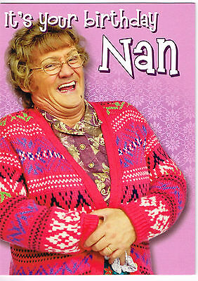 MRS BROWNS BOYS / MBB COMEDY Birthday Card - NAN
