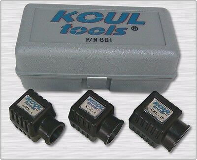 "Koul Tools 681 AN Hose End Assembly Tools 6AN/8AN/10AN - ""Hot Rod Kit"""