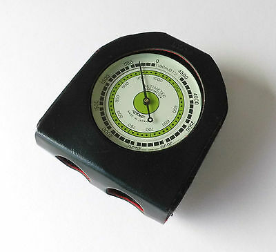 Höhenmesser Altimeter Barometer Made in Japan mit Kompass + Thermometer
