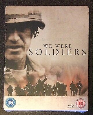 WE WERE SOLDIERS Blu-Ray SteelBook Zavvi UK Exclusive Ultra Ltd Ed. New OOP Rare