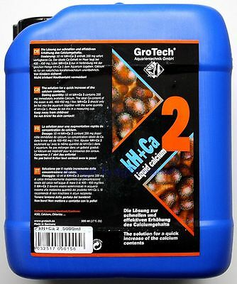 GroTech kH+Ca 2 Calcium 5000ml Gro Tech  11,80€/L