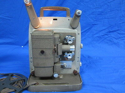 Vintage Bell & Howell Design 253  8mm Motion Picture Projector