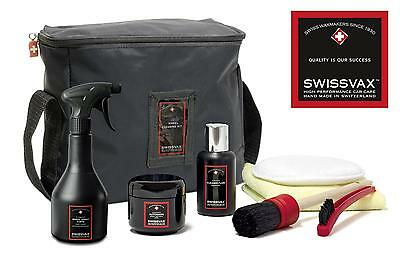 SWIZÖL SWISSVAX Wheel Cleaning & Care-Kit FORTE Felgenreinigung & Versiegelung