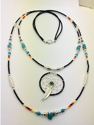 Dream Catcher Authentic Native American Dreamcatcher Navajo Handmade Necklace