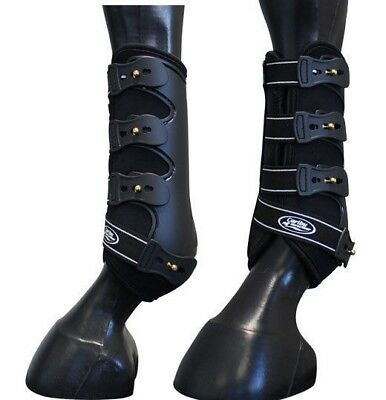 CARIBU Genesis Moulded TENDON SLING BOOTS with Stud Fastners. Large or Medium