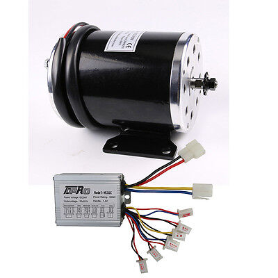 MY1020 36V 800W Electric Motor + Speed Controller for Electric Scooters Bicycle