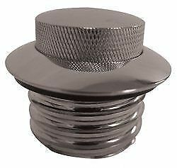Gas Cap Flush Mount Pop-up Style Chome Non-Vented Suit Harley or Custom
