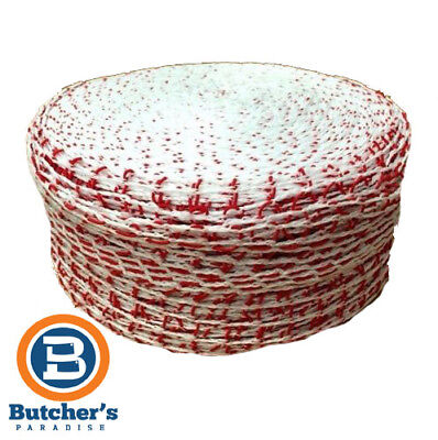 Trunet Meat Netting 180/24 Roast Red & White Classic Roll 11310 - 5M