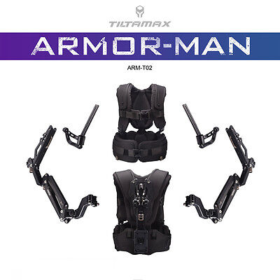 TiLTA-MAX ARM-T02 ARMOR-MAN II Ultimate Exoskeleton Gimbal Support F DJI Ronin-M