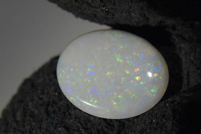 STUNNING OVAL GEMSTONE Australian Cooberpedy Solid Natural Opal 1.5 Ct SEE VIDEO