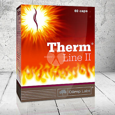 OLIMP Therm Line II 2 Fat Burner Weight Loss Diet Pills thermogenic effect