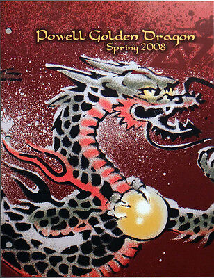Powell Peralta Golden Dragon Spring 2008, Skateboard Products Dealer Catalog