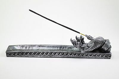 Silver Western Dragon Claw Incense Burner Holder Dark Legend Home Decor Gift