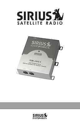Sirius Connect for JVC Car Head Unit / Decks Satellite Radio Tuner SIRJVC1C