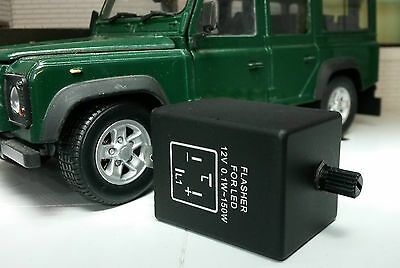 PRC8876LED LAND ROVER DEFENDER 90 110 WIPAC INDICATOR FLASHER RELAY 4-PIN LED