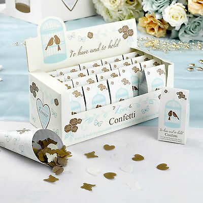 WEDDING CONFETTI Biodegradable Throwing Tissue Paper TO HAVE & TO HOLD