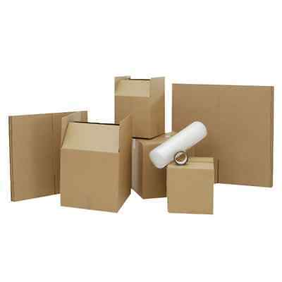 STRONG 20 x LARGE HOUSE MOVING CARDBOARD BOXES REMOVAL PACKING BOX FAST DELIVERY