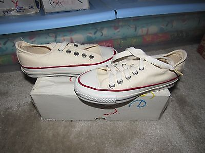 Nib Vintage Converse All Star Chuck Taylor Kids Low 11.5 Made In Usa