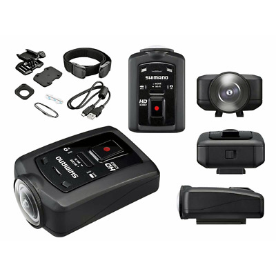 Shimano Sports Camera CM-1000 Bike Mounts Full HD 1080 WiFi Ant+ Shimano D-Fly