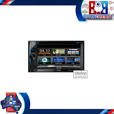 "Clarion Vx603au 6.2"" Navigation Cd Dvd Usb Bt Pandora Receiver Double Din Nav"