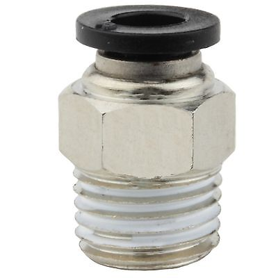 """10 pcs Push to Connect Fittings for Pneumatic Tubing OD ¼"""" – ¼"""" Male NPT"""