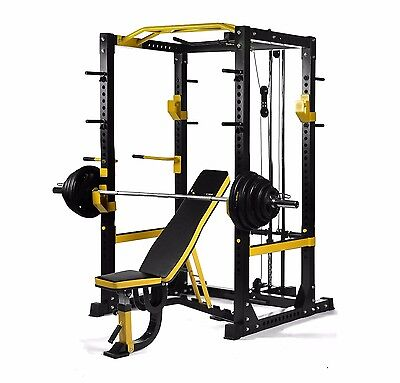 New Pro-X3 Monster Heavy Duty Commercial Power Rack For Crossfit 600Kg Capacity