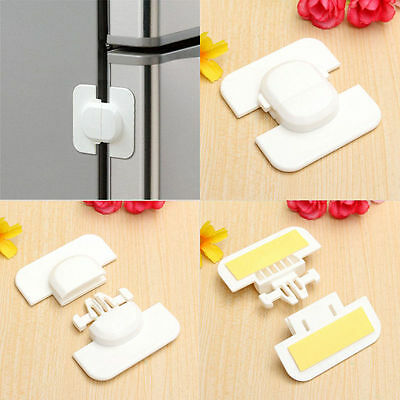 Protect Baby Safety Fridge Drawers Cabinet Door For Children Kids Plastic Lock