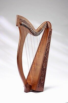 EMS NEW Minstrel Celtic Harp, 29 Strings, Rosewood **NEW**