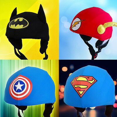 Superheroes helmet covers for skiing,snowboarding,scootering,cycling-more colors