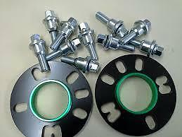 2x VW T5 To Range Rover 10mm Hubcentric Wheel Spacers Fitting Kit & Bolts