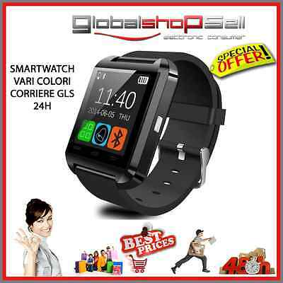 smart watch U9 orologio smartwatch bluetooth android ios nero dz09 gt08 a1