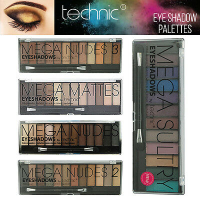 Technic Mega Nudes 2 3 Sultry Naked Nudes - 12 Shade Natural Lidschatten Palette