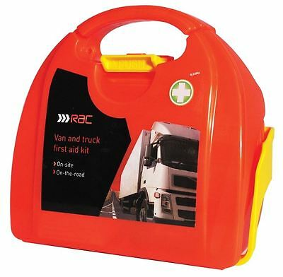 RAC 60 Pieces Van & Truck Essential Emergency HSE Safety Medical First Aid Kit