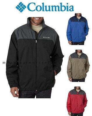 S - 3XL Columbia Men's Glennaker Lake Rain Jacket 2015