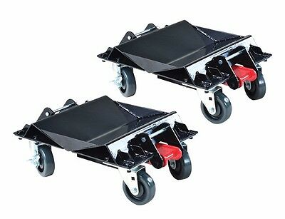 ATD Tools 7469 - Heavy-Duty Convertible Car Dolly Set (One Pair) - Brand New