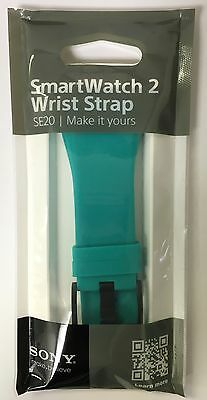 Sony SmartWatch 2 Wrist Strap SW2 SE20 Band - Green Teal